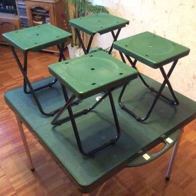 Туристический стол со стульями