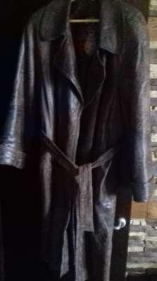 Пальто на теп.холодную погоду-межсезон/кожанное теплое52-54р