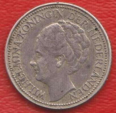 Нидерланды Голландия 25 центов 1940 серебро Кюрасао Эмиграци