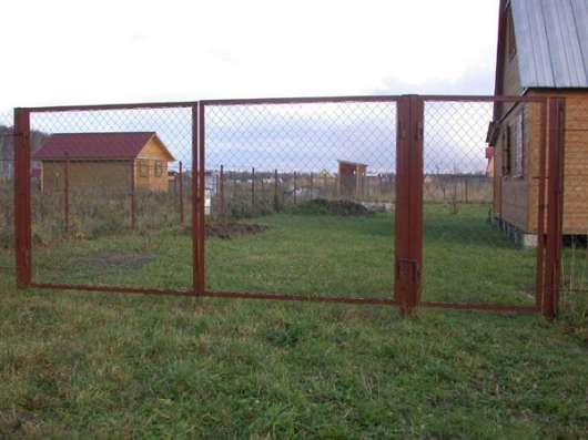 Садовые металлические ворота и калитки в Курске Фото 3
