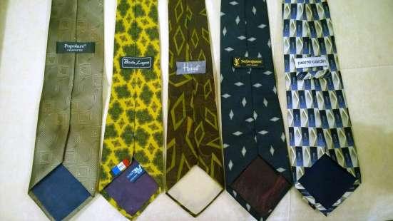 Комплект из 5 шикарных брендовых галстуков по цене одного
