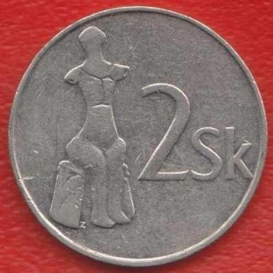 Словакия 2 кроны 1993 г.