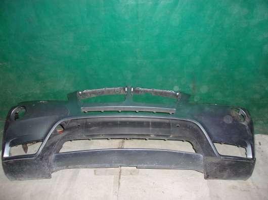 Передний бампер на BMW X3 F25 б. у. оригинал
