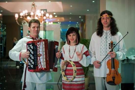 Троїсті музики «ОДНА РОДИНА» - музика та ведучі