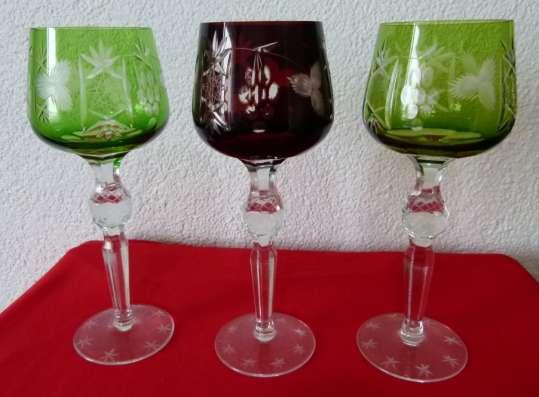 Три бокала.Хрусталь Фужеры.21 см Rоеmer.Вино в г. Франкфурт-на-Майне Фото 5