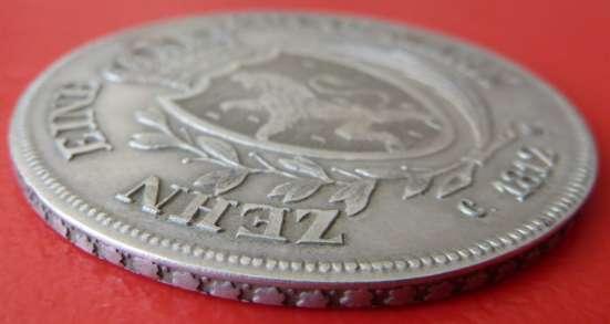 Германия Герцогство Нассау талер 1812 г. №1 в Орле Фото 1