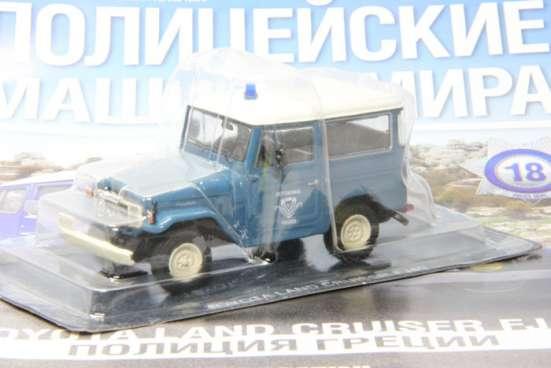 полицейские машины мира №18 TOYOTA LAND CRUISER FJ40 в Липецке Фото 1