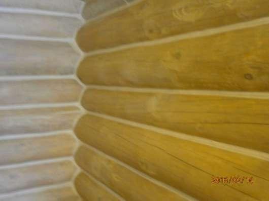 Герметизация швов срубовых домов