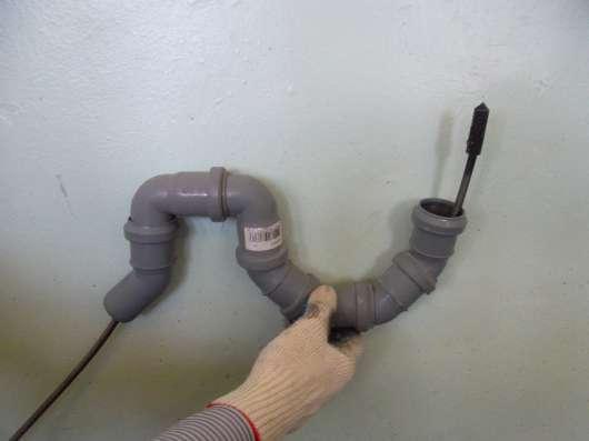 Трос сантехнический для прочистки канализации в г. Юбилейный Фото 2