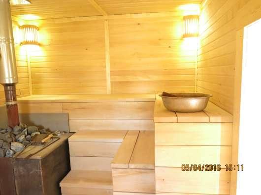 Отделочные работы деревянных домов, бань,саун,квартир,офисов