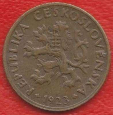 Чехословакия 5 геллеров 1923 г. в Орле Фото 1