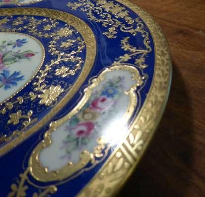 Hutschenreuther.Шикарное тарелка,золото.27 см. в г. Франкфурт-на-Майне Фото 2