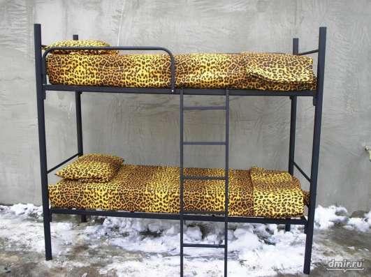 Кровати металлические, тумбы выкатные, кровати для общежитий в Москве Фото 1