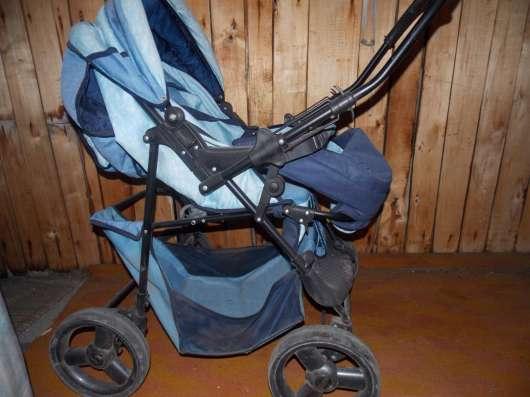 Коляска детская прогулочная с сумкой для переноски