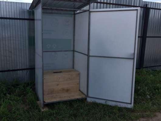 Туалет дачный. Бесплатная доставка