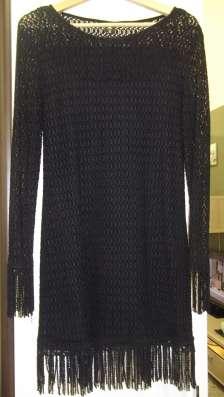 Платье черное коктельное, новое, р.44-46(М-L) в Москве Фото 1