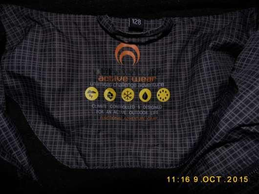Куртка-Пуховик с капюшоном Outventure новый р.122-128 (не на