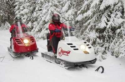 снегоход Русская механика