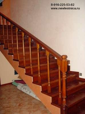 Красивые лестницы для дома и коттеджа Новая Лестница в Дмитрове Фото 3