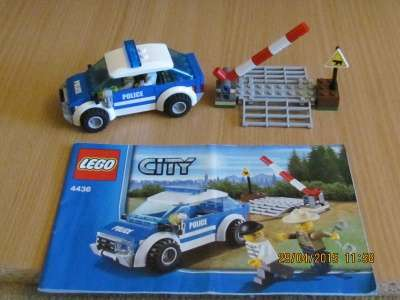 игрушку Лего сити Патрульная машина