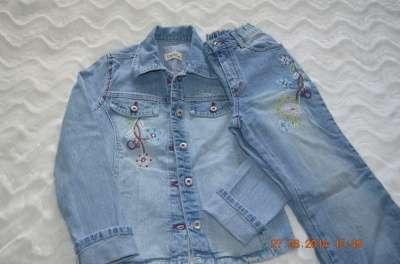 джинсы для девочки 122 и 134