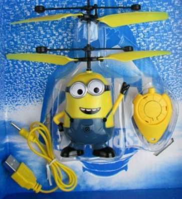 Занимательная игрушка Летающий Миньон в Санкт-Петербурге Фото 6