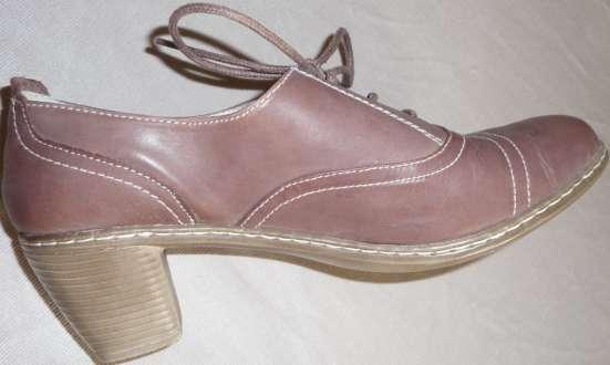 Туфли-полуботинки, натуральная кожа, р-38 в Новосибирске Фото 3
