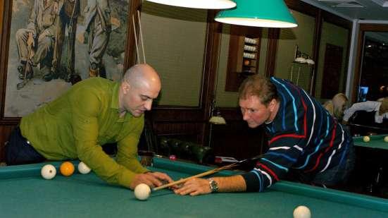 Бильярд с Юрием Бабиным