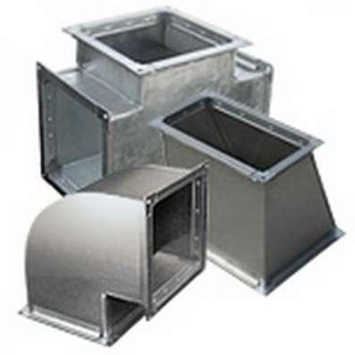 Воздуховоды из оцинкованной стали (промышленное производство в Сочи)