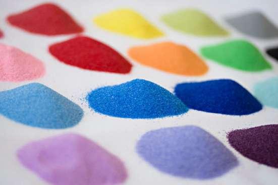 цветной песок +для детей