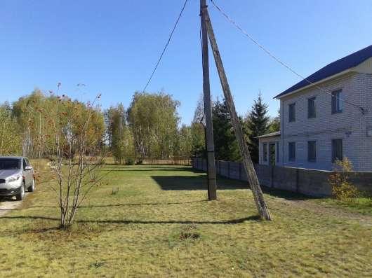 Участок с берёзовой рощей и коммуникациями в Липецкой обл