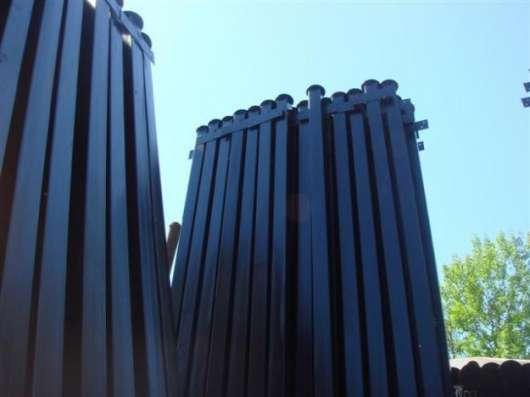 Столбы заборные металлические