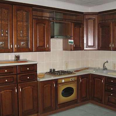 Кухни из массива в Москве Фото 2