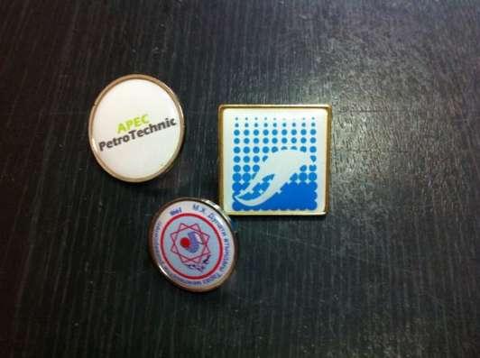 Изготовление значков с логотипом в г. Алматы Фото 1