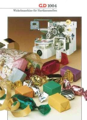 Машина завёрточная АCМА G. D 1004 для завёртки конфет в дво