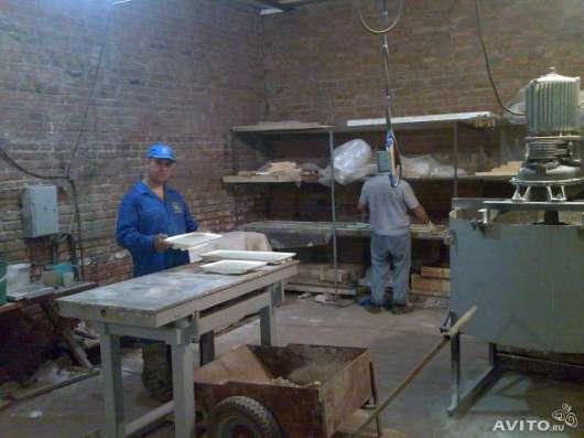 Оборудование для производства искусственного камня из бетона