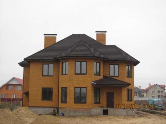Строительство коттеджей в Коломне, Луховицах, Озерах, Егорьевске, Воскресенске.