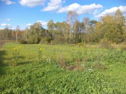 Продается земельный участок 10 соток в д. Аникино (вблизи ж/д станции Шаликово) ,86 км от МКАД по Минскому шоссе.