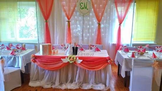 Оформлю ваш свадебный стол