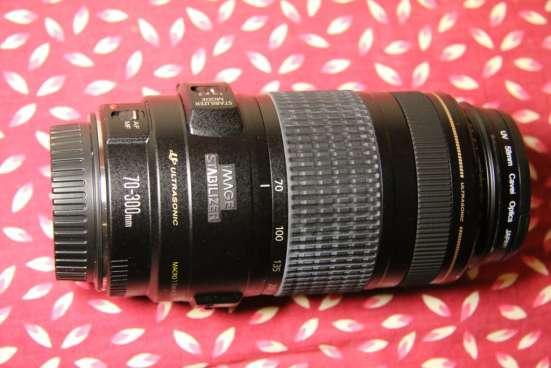 Продам фотообъектив Canon EF 70-300 mm f/4-5.6 IS USM в Воронеже Фото 6