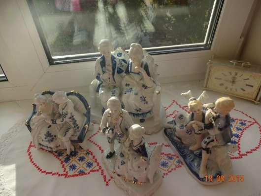 Фарфоровые статуэтки из Англии