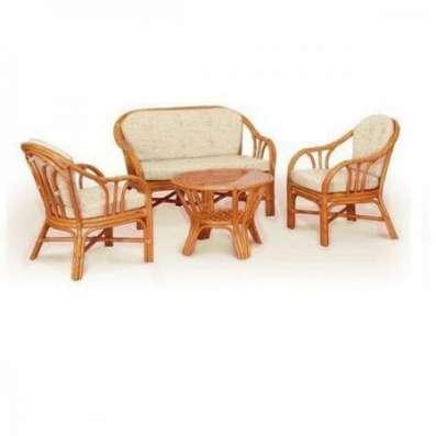 Мебель плетеная из натурального ротанга комплект 01.28