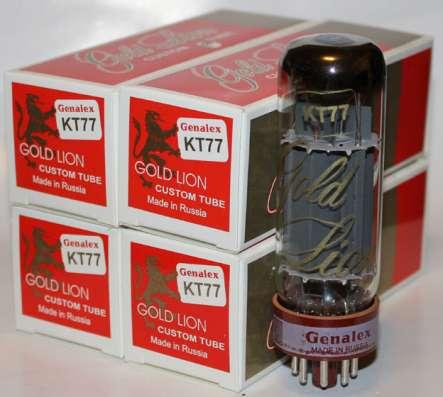 Радиолампа KT77 Genalex Gold Lion