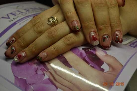 Наращивание ногтей (гель, акрил)