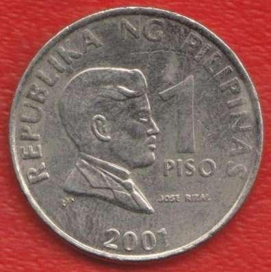 Филиппины 1 песо 2001 г.