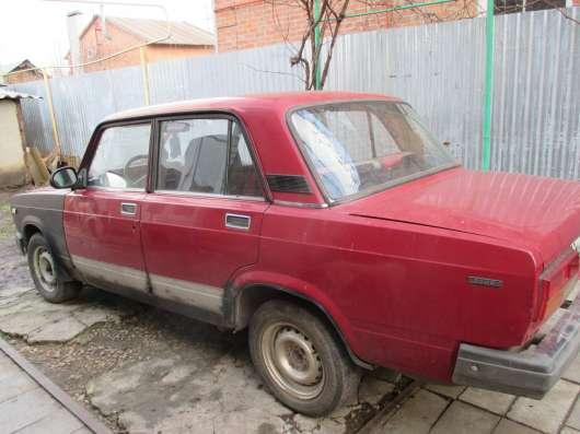 Продажа авто, ВАЗ (Lada), 2107, Механика с пробегом 80000 км, в Таганроге Фото 3