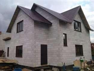 Теплые блоки с фасадом РИСТЕМ. Экономия на строительстве 40%