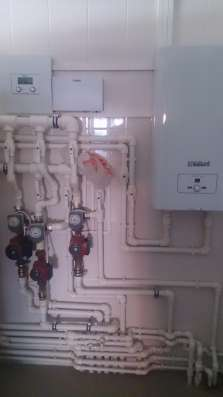 Газификация, отопление, водоснабжение под