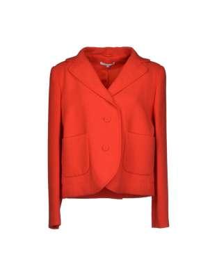 CARVEN Франция пиджак жакет Новый 44. Красный Шерсть