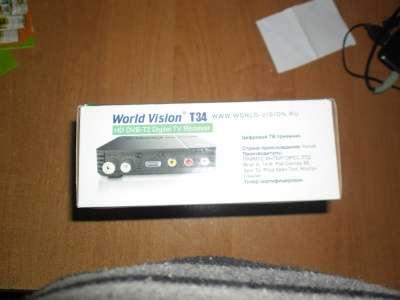 комплект спутникового ТВ World Vision USB DVB T2